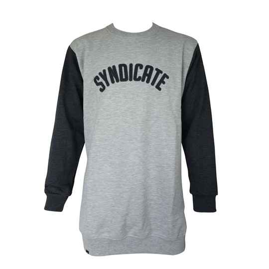 Syndicate Vintage Crewneck, Heather/ Grey