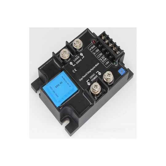 Solid state relais 40A 0-10Vdc 0-5Vdc - Potmeter - 0-20mA, 24-380Vac PWM proportioneel | 51565