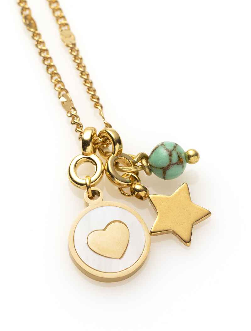 Ketting - Goud - ♥ - you are a Star