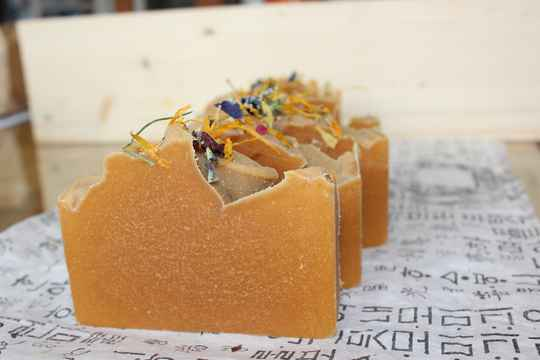 Honey Goat milk facial  soap