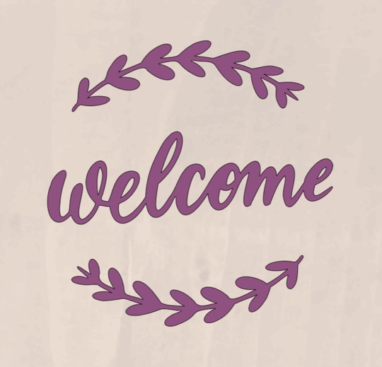 Welcome - 8 x 8