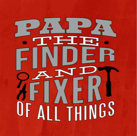 Papa the Finder and Fixer of all Things - 8x8