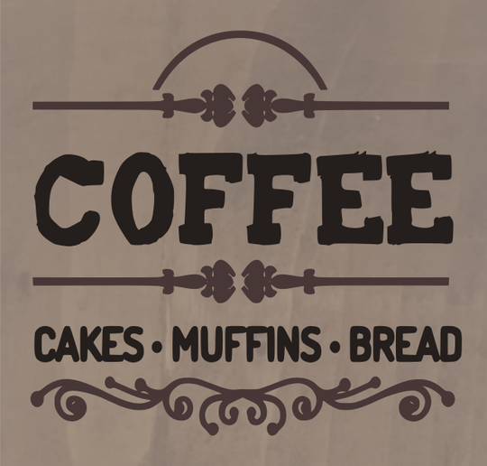Coffee Cakes Muffins Bread - 8 x 8