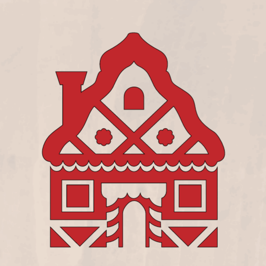 Gingerbread House - 8 x 8