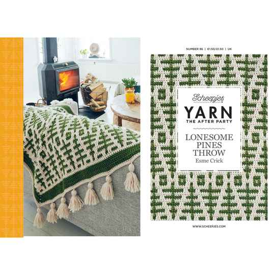 YARN The After Party 86 - Lonesome Pines Throw