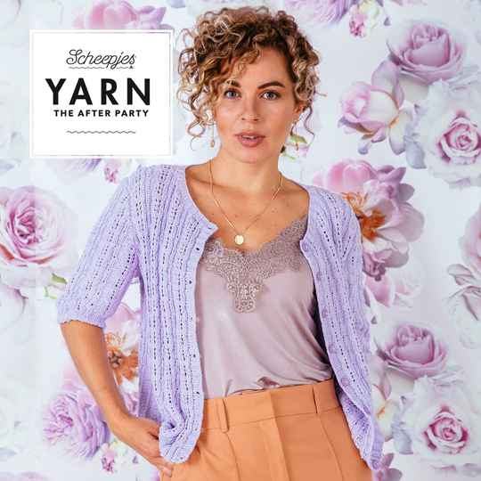 YARN The After Party 114 - Vier de lente met de Blossom Cardigan