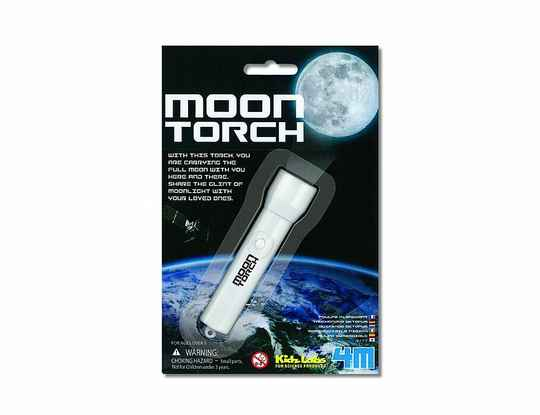 Bouwpakket - 4M Kidz Labs - Maan zaklamp Moontorch (Eco-Gr)