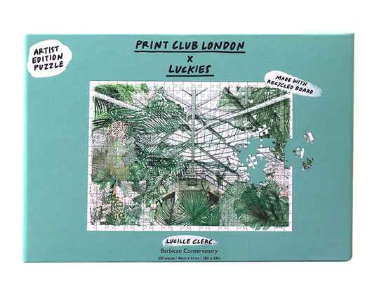 Cadeaus - Lucky`s - Puzzel Barbican Conservatory - (Eco-Gr)