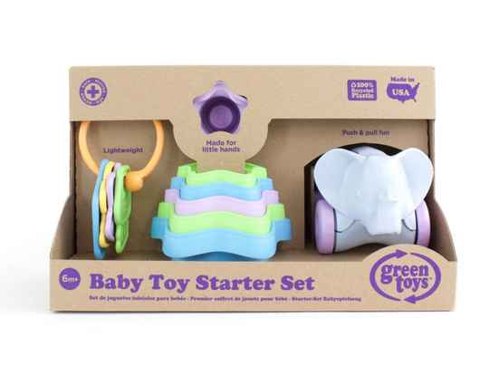 Cadeaus - Green Toys – Baby 3 in 1 speelset - (Eco-Gr)