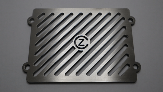 CZ Radiator Cover Diagonal W/ Logo 2.0