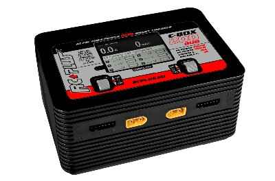RC Plus - C-Box 200 Duo Charger - AC 200W - DC 400W