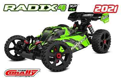 Team Corally - RADIX 4 XP - 1/8 Buggy EP - RTR - Brushless Power 4S