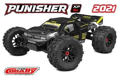 Team Corally Punisher XP 6S - 1/8 - RTR - Brushless Power 6S