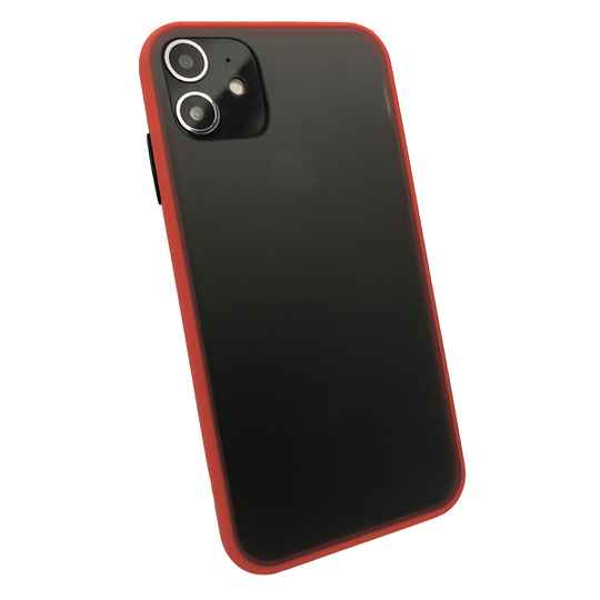 Colorbutton Backcover voor de iPhone 11 - rood