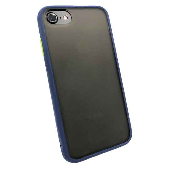 Colorbutton Backcover voor de iPhone SE (2020) / 8 / 7 - donkerblauw