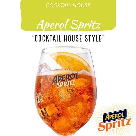 Aperol Spritz (Cocktail House Style)