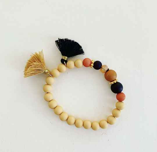 Armband  |  Wooden chique