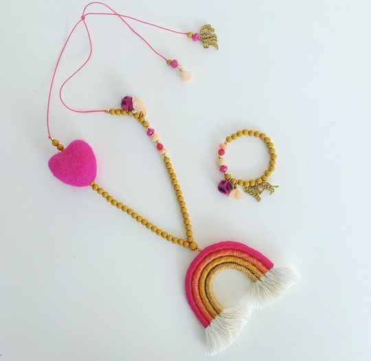 Ketting  |  Colorique  |  Sweetheart