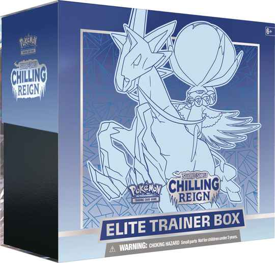 Sword and shield chilling reign elite trainer box