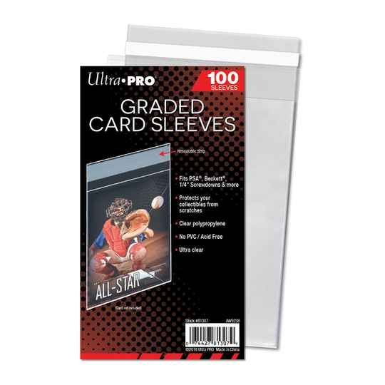 Ultra Pro Graded Card Sleeves Resealable