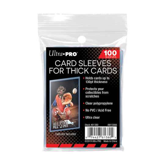 Ultra Pro Sleeves Thick Card Sleeves (100st, 130PT)