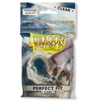 Dragon Shield Perfect Fit Clear Transparant Inner Card Sleeves