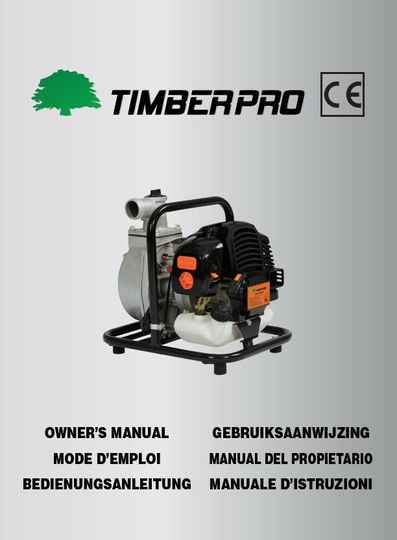 Timberpro waterpump user manual, click on link, do not add to cart.