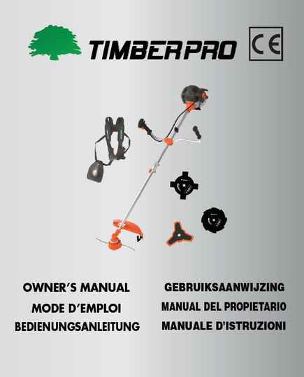 Timberpro BC520 Brushcutter user manual download. Click on link.