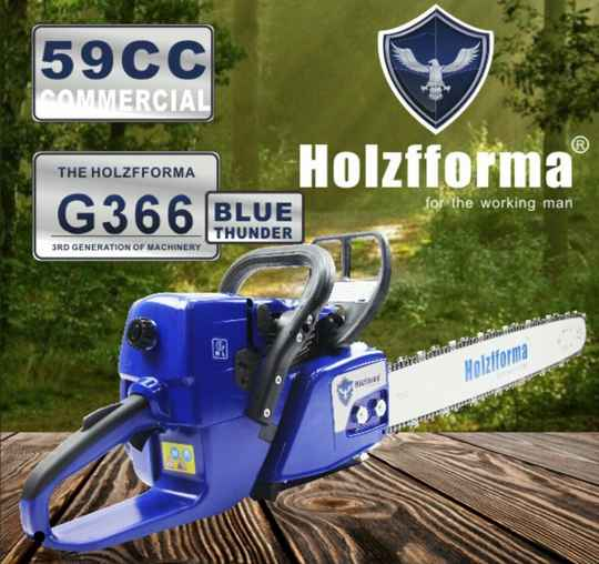 Farmertec G366 Blue Thunder Chainsaw, Suitable For Stihl Bars