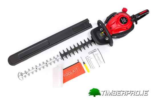 "Timberpro 30"" semi professional hedge trimmer."