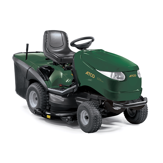 Atco GT38H Twin 98cm Ride-on Mower.