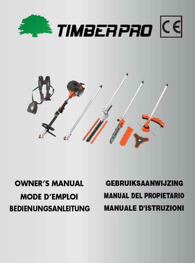 Timberpro 5 IN 1 multitool, user manual download, Click link, do not add to cart.