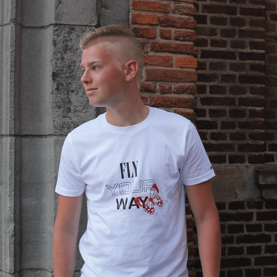 T-SHIRT FLY YOUR WAY - UNISEX