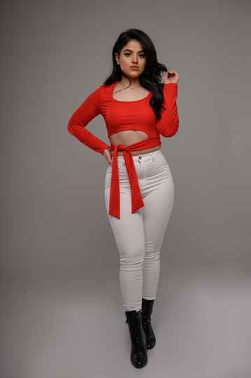 Rosy top - RED