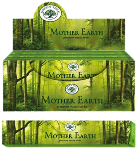 Green Tree Mother Earth Stokjes