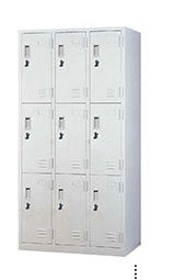 STL-G106 9 Door Steel Locker Cabinet