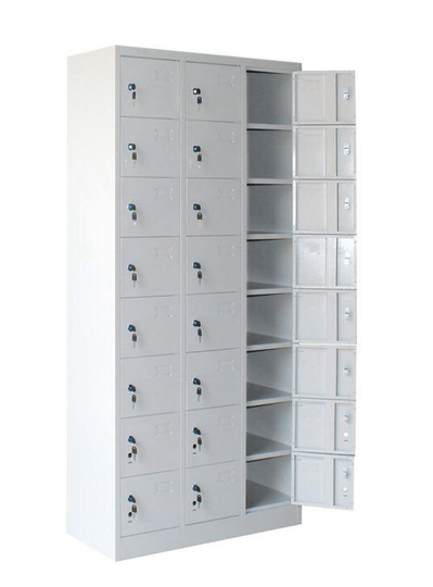 STL-G115 24 Door Steel Locker Cabinet