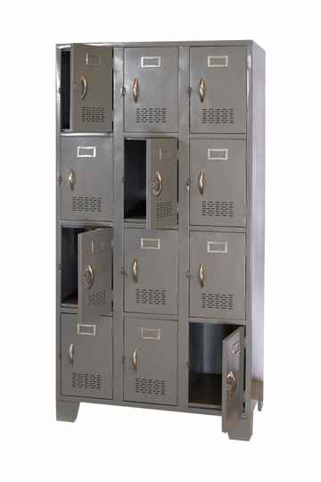STL-US108 12 Door Steel Locker