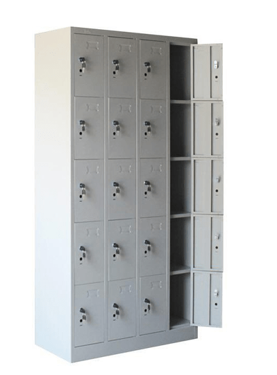 STL-G114 20 Door Steel Locker Cabinet