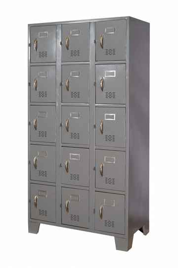 STL-US110 15 Door Steel Locker