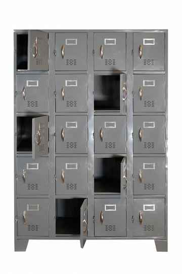STL-US114 20 Door Steel Locker