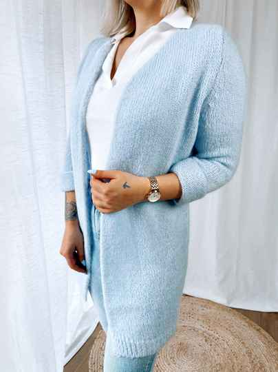 Cardigan Maud Light Blue