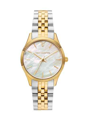 Paul Valentine Watch Iconia Gold Silver
