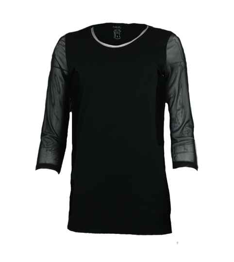 Soft B T-Shirt 35432 in schwarz