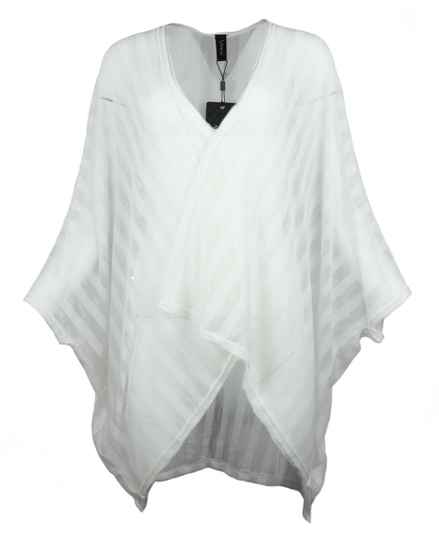 Intown Cape in white one size