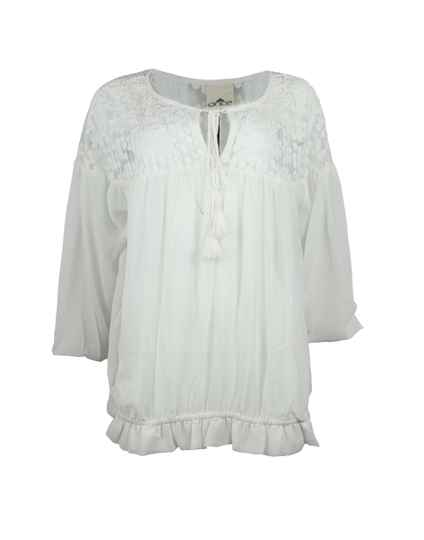 Once Bluse in Off white 71307