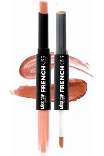 FRENCH KISS Duo Gloss & Lipstick 04 Nude