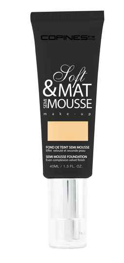Copines Line Paris Matte Mousse – Soft Matte Semi Mousse 01- Beige