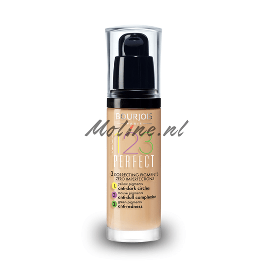 Bourjois 1.2.3. Perfect Foundation. 54 Beige