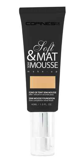 Matte Mousse – Soft Matte Semi Mousse Foundation 02- Beige Doré